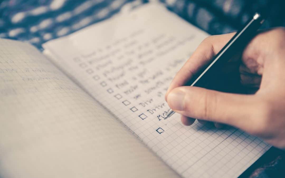 Personal Injury Checklist