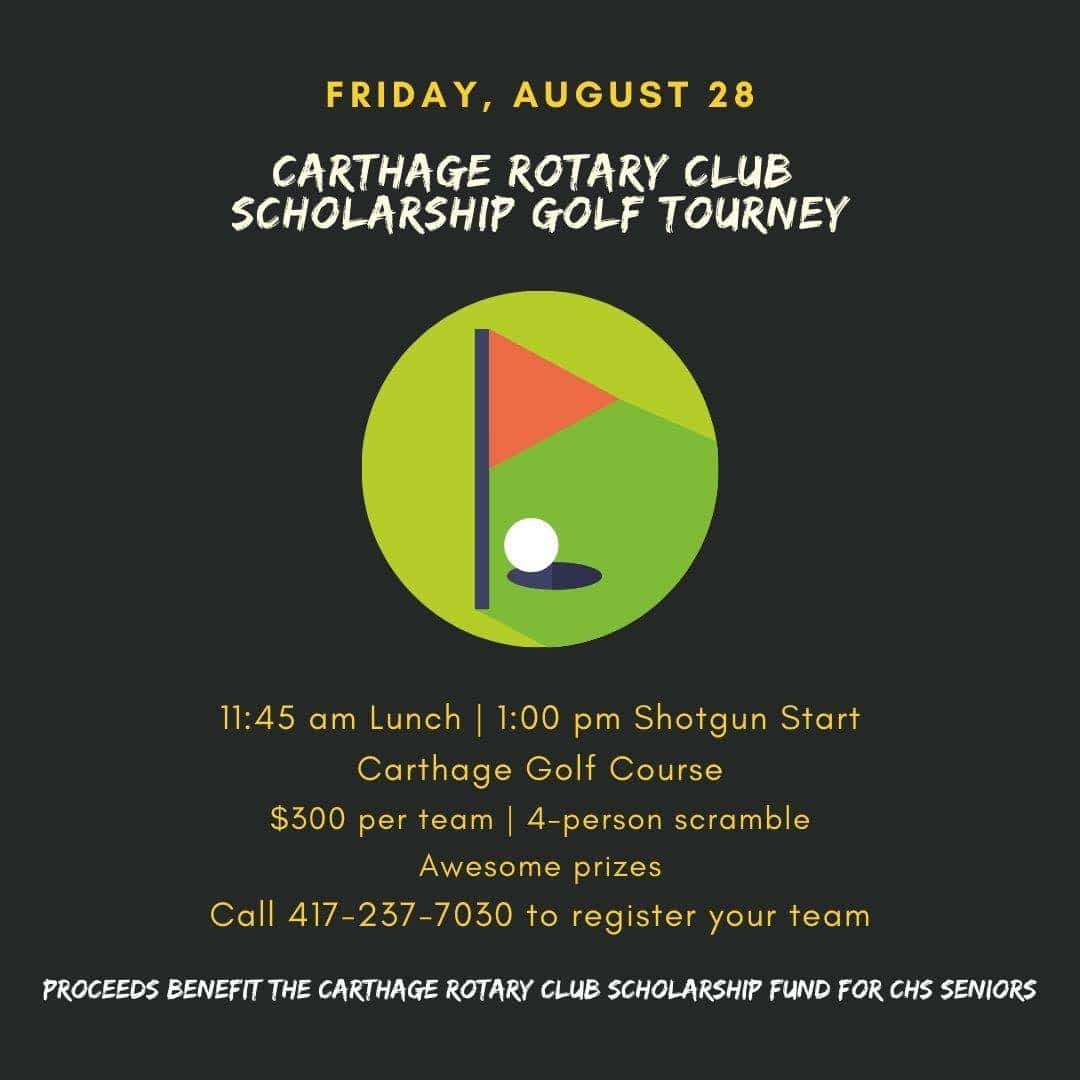 Carthage Rotary Club Golf Tourney